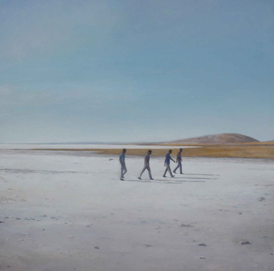Federico Granell  En marcha, 2012 120x120 cm