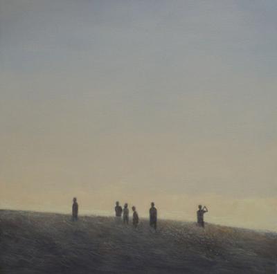 Federico Granell  A lo lejos, 2012 40x40 cm