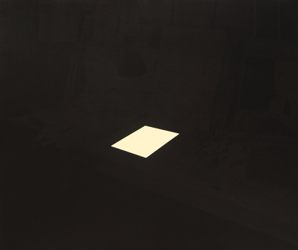 Inicio, 2013. Acrílico sobre lienzo, 130 x 150 cm.