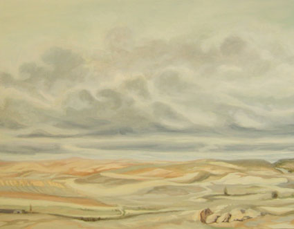 VISTA DESDE COGOLLUDO, 2006 Óleo sobre lienzo, 70 x 90 cm.