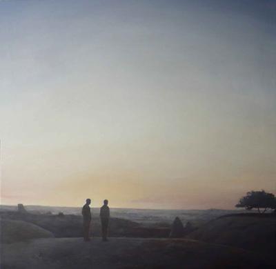 Federico Granell  El día nos deja, 2012 97x97 cm