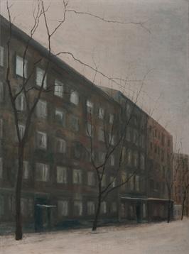 Kazimierz. Óleo/lienzo 81x60 cm.