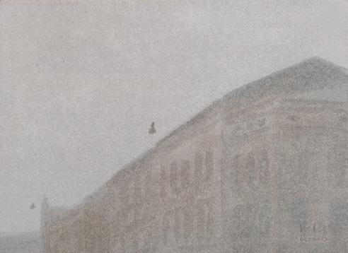 Ul  Stradomska. Óleo/lienzo 24x33 cm.