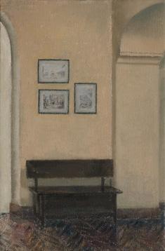 Ignacego Kriegera en el Wyspianski Óleo/lienzo 41x27 cm.
