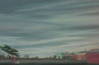 Marmitex II – 81 x 12 – óleo/tabla – 2012