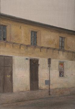 Ulica Marszalka J. Pilsudskiego Óleo/lienzo 55x38 cm
