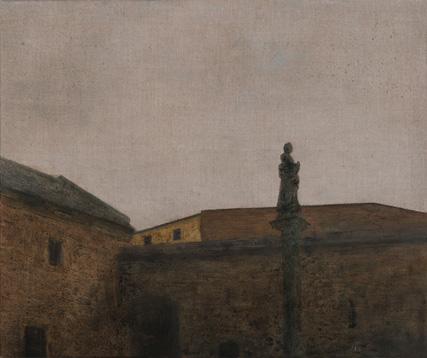 Convento de los Dominicos 2012 óleo/lienzo 46x55 cm.