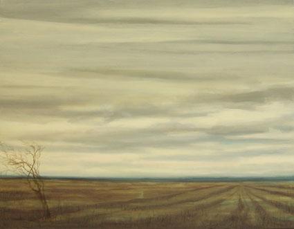 NOBODY, 2007 Óleo sobre lienzo, 70 x  90 cm.