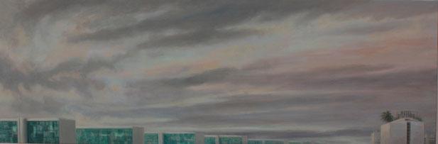 Hotel Dispêndio – 50 x 150 – óleo/lienzo – 2012