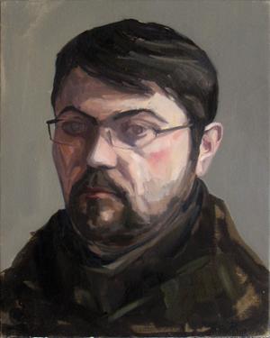 Alberto Pina Autorretrato