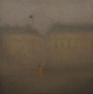 Chechu Álava París, 2008. Óleo sobre lienzo, 30 x 30 cm.