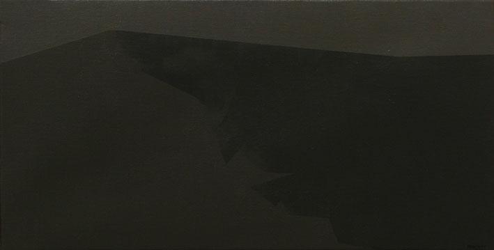 Chema-Peralta Nocturno, 2004, acrílico sobre tela, 24x43 cm.