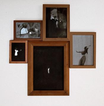 Fernando Martín Godoy Sarao, 2013 5 piezas tinta china sobre papel
