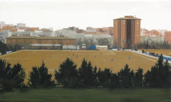 Fútbol. 2009. 33 x 54 cm.