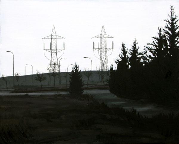 Gemelos - óleo/lienzo 65 x 81 cm.