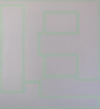 M. A Cielo abierto 11, 2007, Acrílico sobre tela 146X130 cm