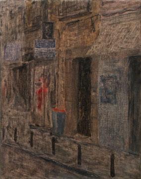 Miguel Galano Utopia Parkway, 2004 , óleo sobre lino, 35x27 cm.