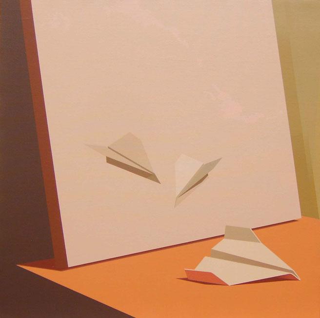 Origami-y-Naturaleza-Muerta-2-52x52-cm-Acrílico-lienzo-2012