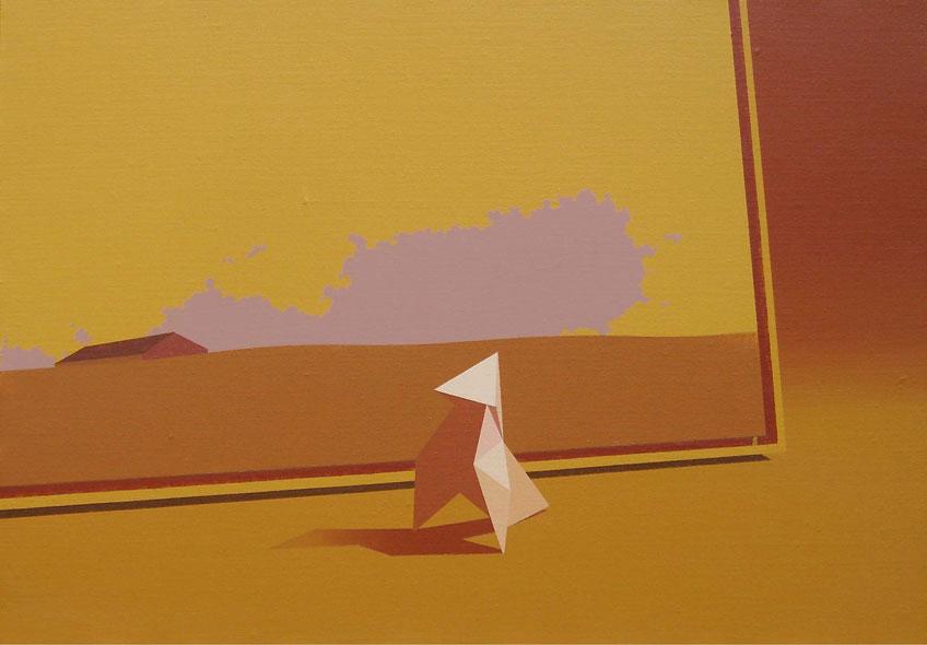 Origami-y-Tenada-35x50-cm-Acrílico-lienzo-2011