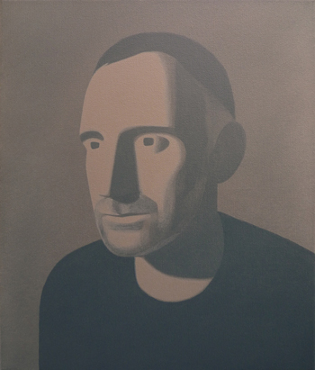 Fernando Martín Godoy Retrato de Peter Garden 2010. Acrílico sobre lienzo. 35 x 30 cm.
