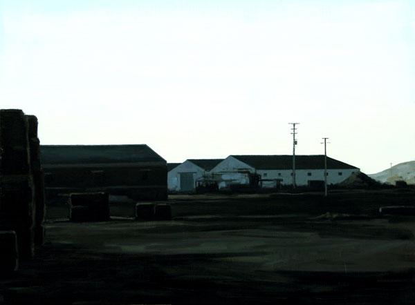 Rural - óleo/lienzo 54 x 73 cm.