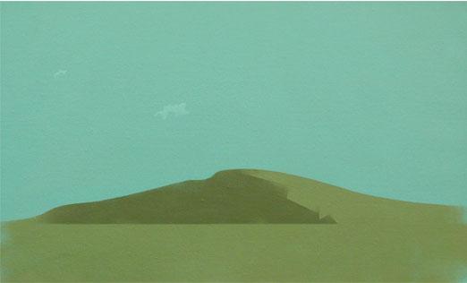 Atardecer.38x61cm.Acrílico-Tela.2008