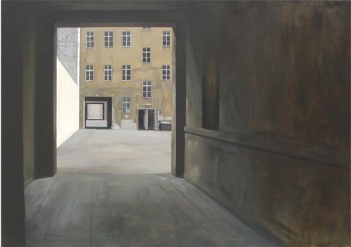 Berlín Este - óleo/lienzo 130 x 160  cm.