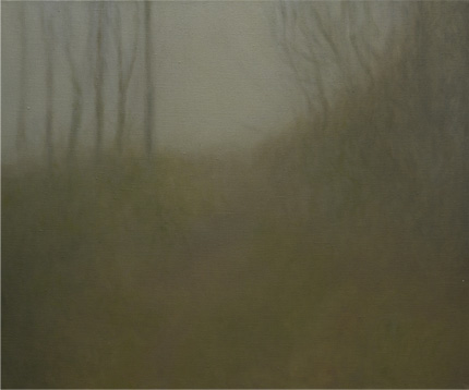 Bosque óleo sobre lienzo 46 x 55 cm. 2008-2009