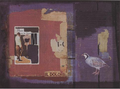 Manuel Bouzo Il Dolore, 2001, técnica mixta, 44 x 55,5 x 13 cm