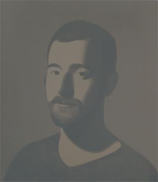 CARLOS VI, 2007 ACRÍLICO SOBRE LIENZO 41 x 35 cm