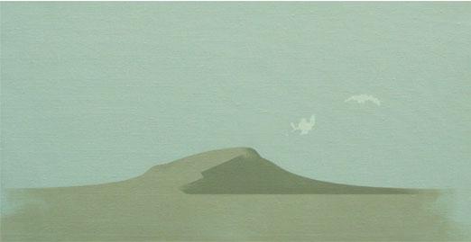 Cerro Gris.33x61cm.Acrílico-Tela.2009
