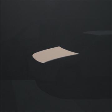 COCHE, 2007 ACRÍLICO SOBRE LIENZO 100 x 100 cm