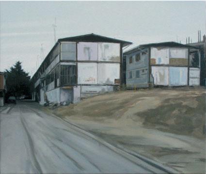 Desalojados. 2009. 46 x 55 cm.