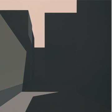 EDIFICIOS, 2007 ACRÍLICO SOBRE LIENZO 80 x 80 cm