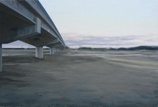 El puente. 2007. 130 x 195 cm.