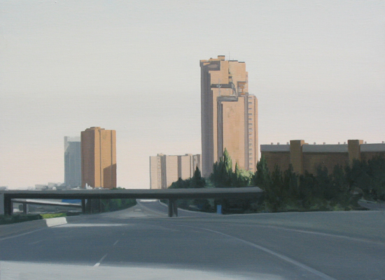 En la ciudad. 2008. 54 x 73 cm.