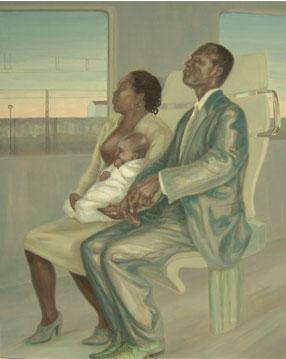 Familia errante – 100 x 81 – Óleo sobre lienzo – 2009