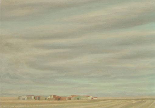 Final de verano – 50 x 70 – Óleo sobre lienzo – 2009