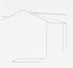 Sin título.  lápiz / papel  2004 24,5 x 16,5 cm