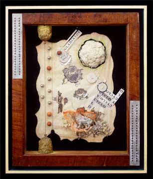 Alan Glass Bee-Lion, 1991, 83,82 x 71,12 x 10,16 cm, Assemblage, constructionL-1251