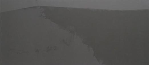 Ladera, 2004. Acrílico sobre tela, 80 x 180 cm.