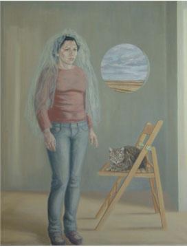 La prueba del velo – 146 x 114 – Óleo sobre lienzo – 2009