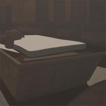 Basura, 2005 Acrílico sobre tabla entelada 25X25 cm.