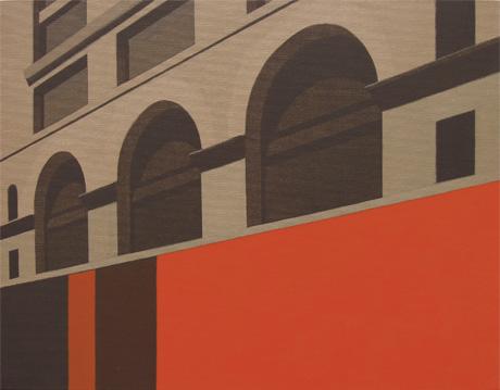 Calle 16, 2005 Acrílico sobre tabla entelada 38X30 cm.