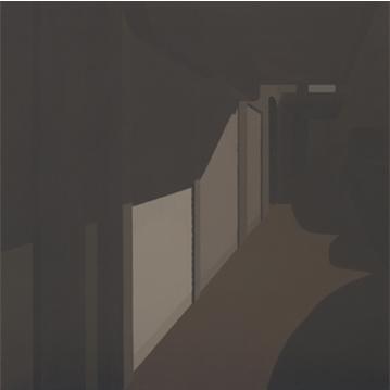 Cierres, 2004 Acrílico sobre lienzo 60X60 cm.