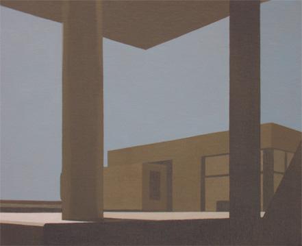 Peaje, 2004 Acrílico sobre tabla entelada 24X20 cm.