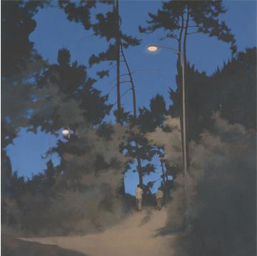 Nocturno. 81x81. 2007