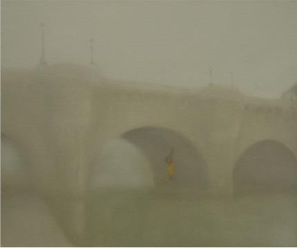 Le Pont Neuf óleo sobre lienzo 46 x 55 cm. 2008