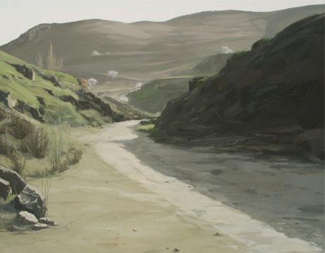 Primavera - óleo/lienzo 130 x 162  cm.
