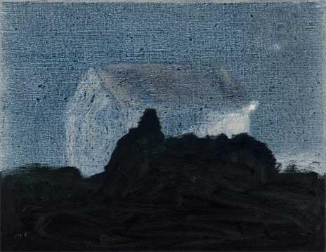 Resplandor, 2007 Óleo sobre lino 27X35 cm.